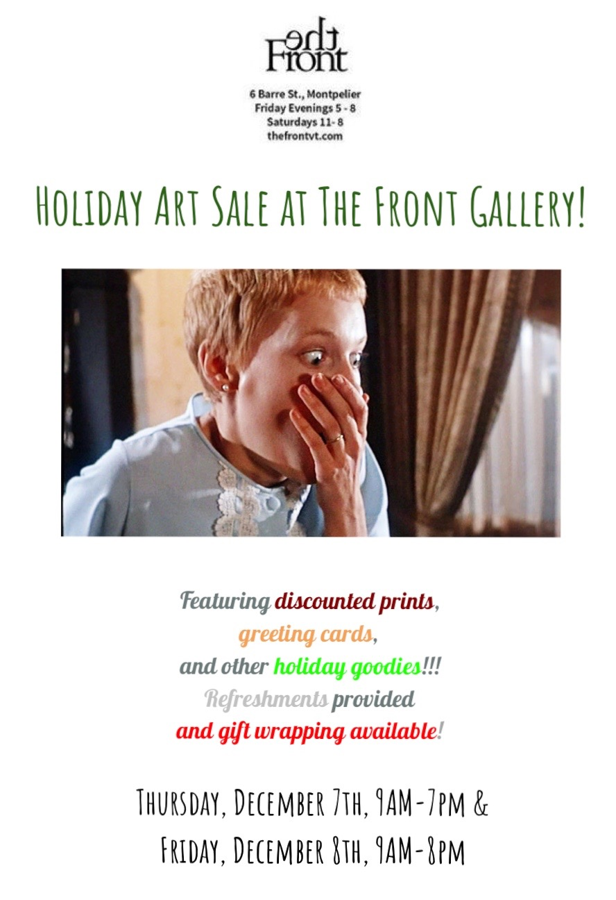 Holiday Art Sale at The Front Gallery